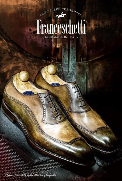 Franceschetti Luxury Handpainted Limited Edition