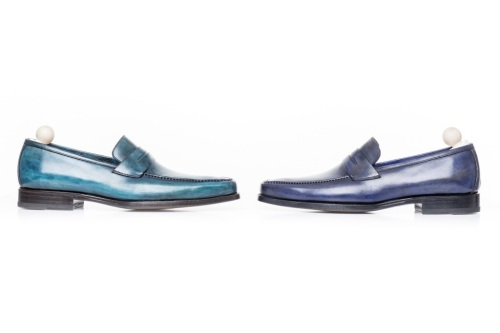 Mocassins by Franceschetti Luxury Handpainted Edition