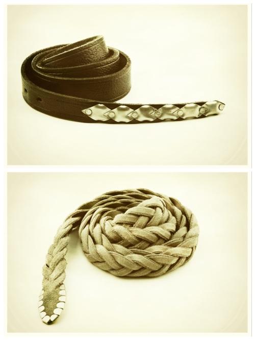 SS2013Collection: belts by Franceschetti