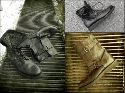 Biker boots by Franceschetti FW13-14