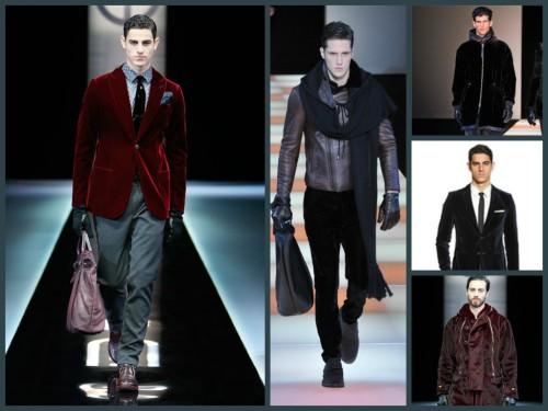 Comp 3 velluto giacca cappotto
