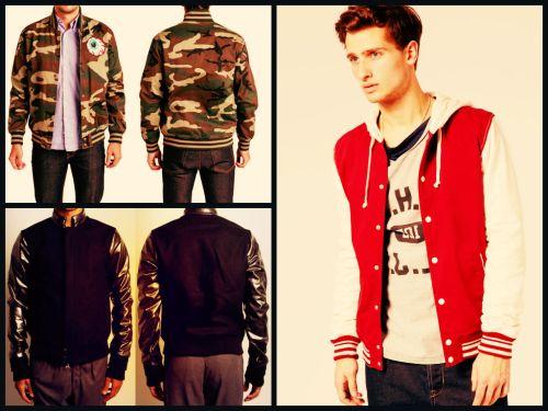Varsity Jacket: trend SS2014
